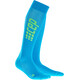 cep Run Ultralight - Calcetines Running Hombre - verde/azul